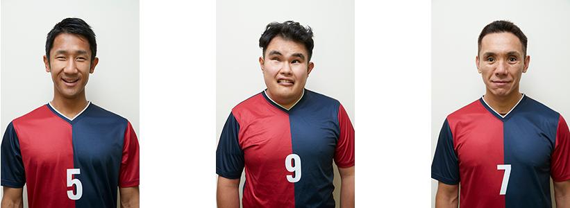 パペレシアル品川から選出された日本代表メンバー